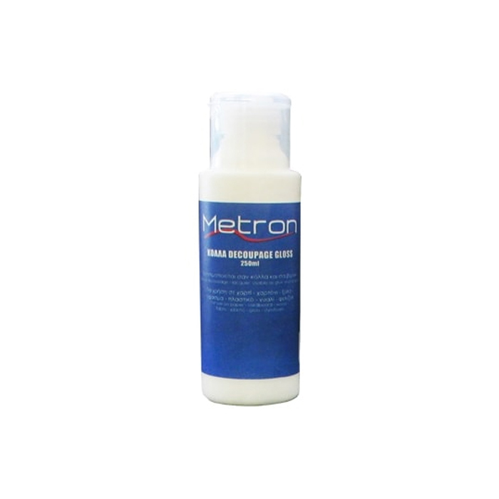 Κόλλα decoupage Metron 250ml