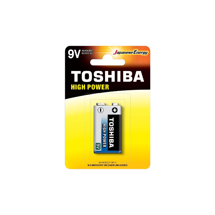 Μπαταρία Toshiba High Power 9V 6LR61GCP BP-1