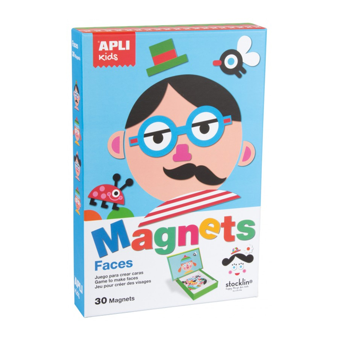 Apli kids Magnets Faces