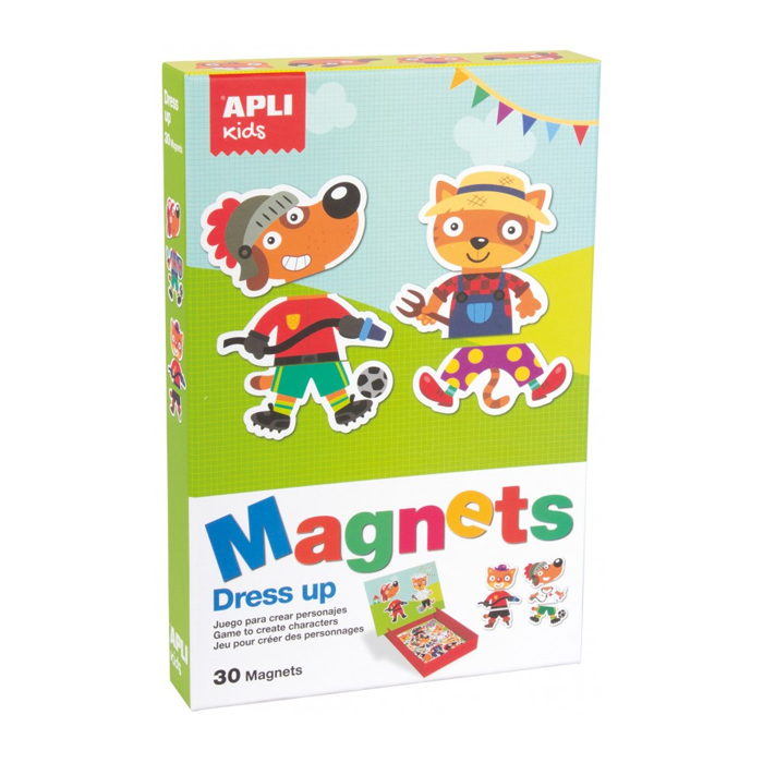 Apli kids Magnets Dress up
