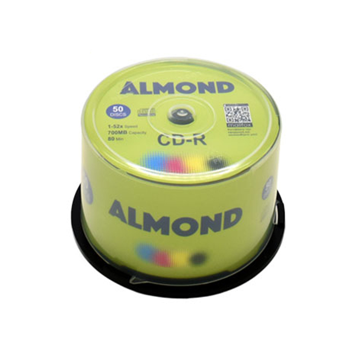 CD-R 700MB 52x Almond Cake Box 50τμχ