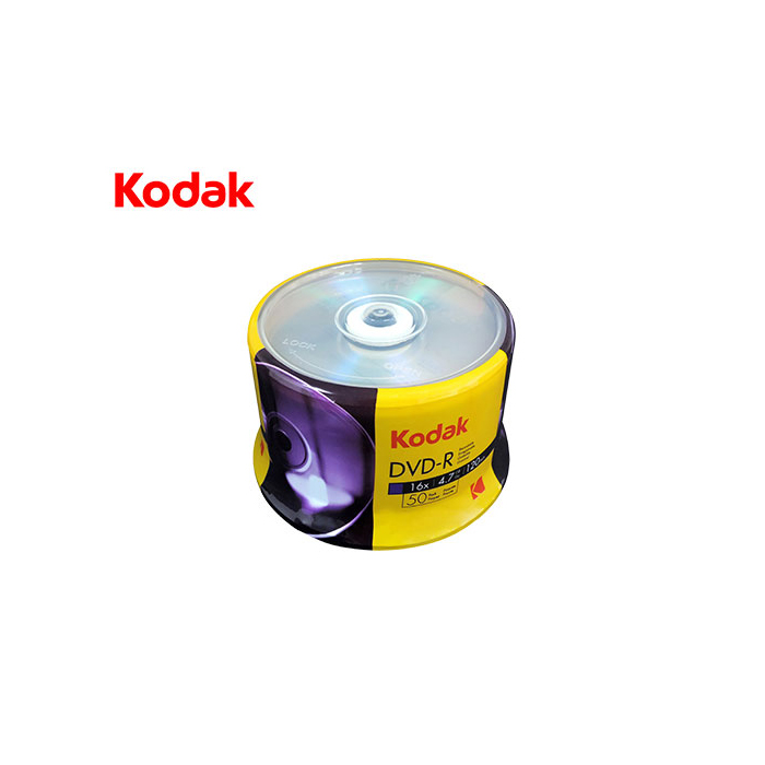 DVD-R 4.7GB 16x Kodak Cake Box 50τμχ